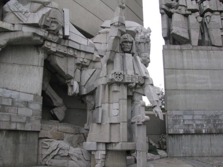 pomnik założycieli państwa bułgarskiego