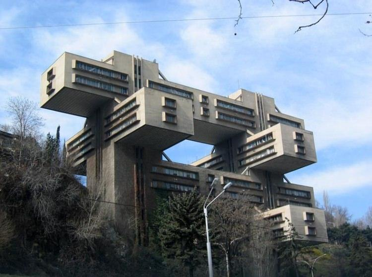 Siedziba banku Gruzji w Tbilisi