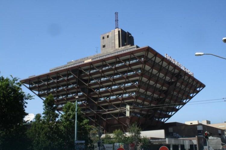 Siedziba radia w Bratysławie na Słowacji