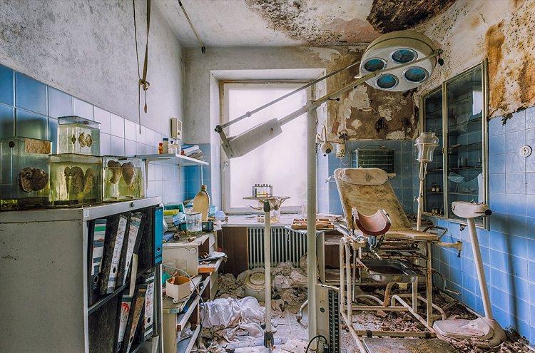 Opuszczone budynki w Europie na fotografiach Christiana Richtera