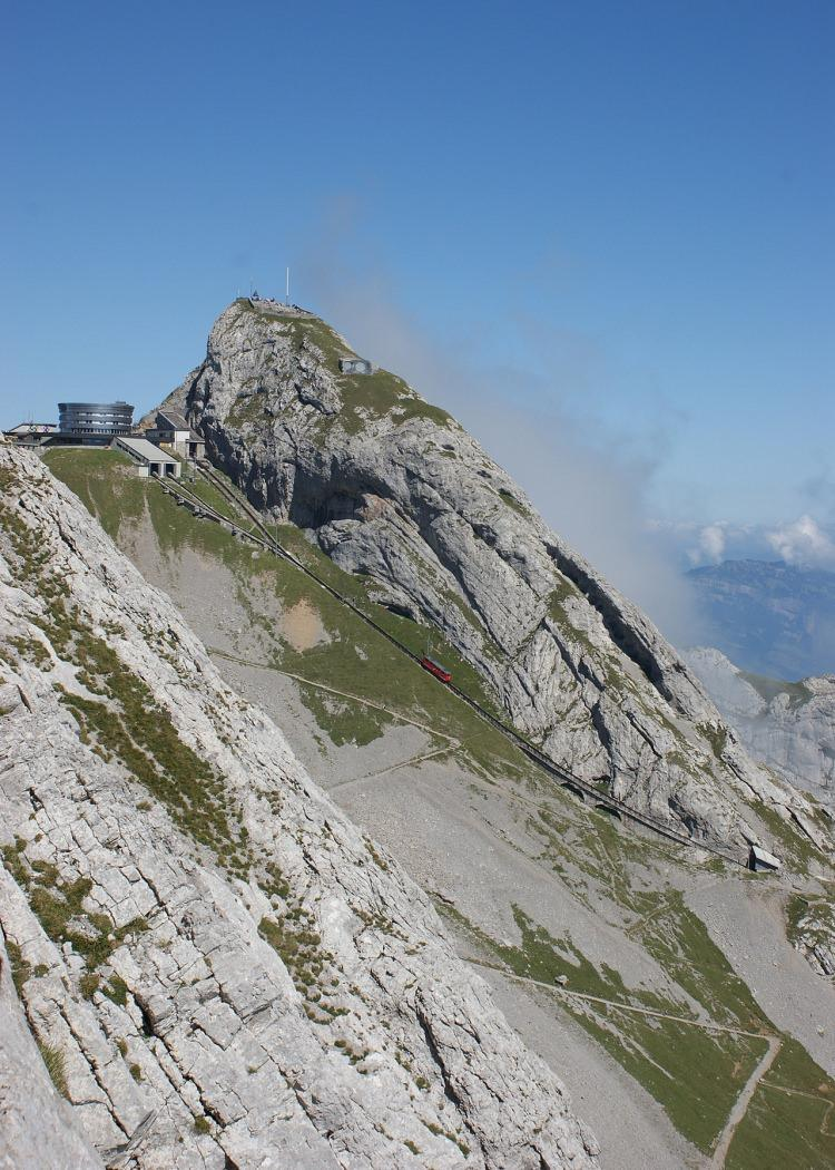 Pilatusbahn - najbardziej stroma kolej na świecie
