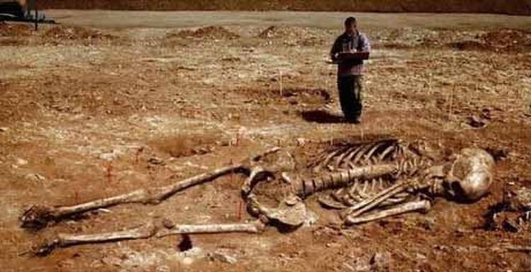 szkielet w Rwandzie