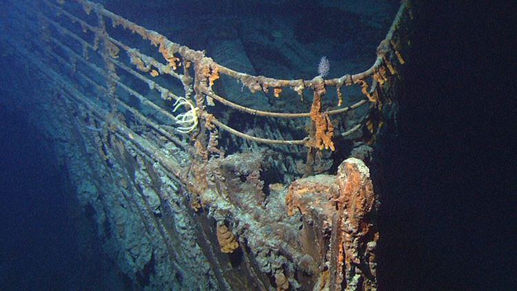 Titanic wrak
