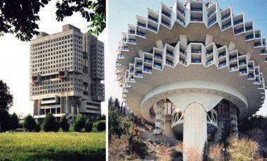 dziwne budynki w dawnym ZSRR