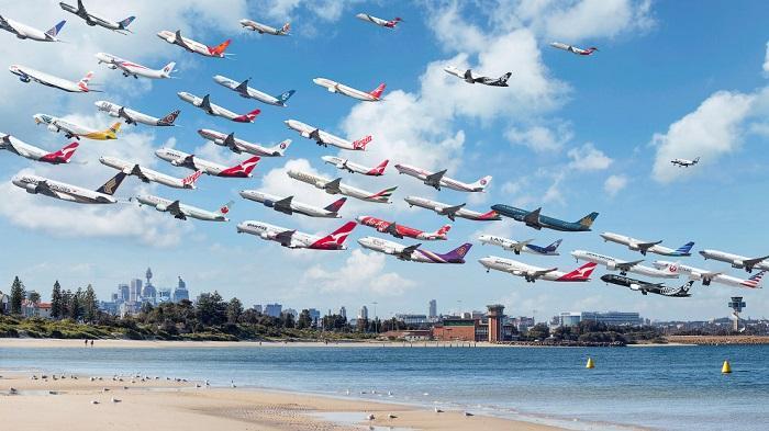 Samoloty latające stadami