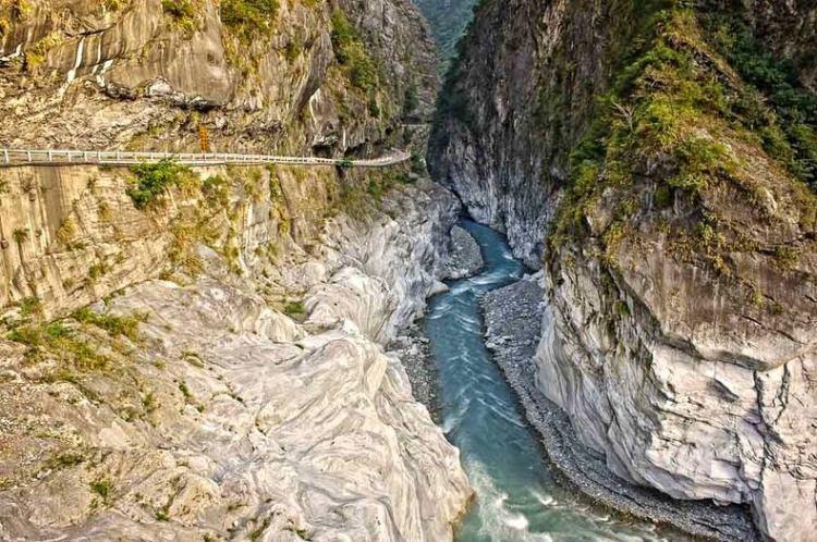 Taroko Gorge Road - najniebezpieczniejsze drogi świata