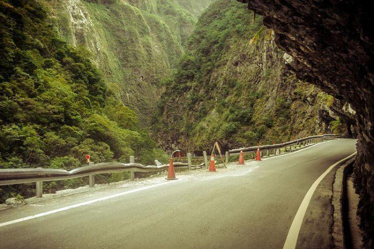 Taroko Gorge Road- najniebezpieczniejsze drogi świata