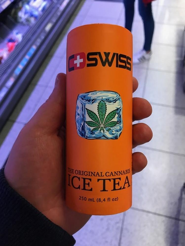 Szwajcarska herbata z konopi