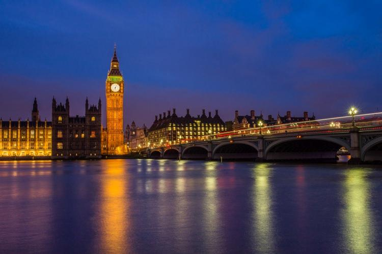 Big Ben w Londynie