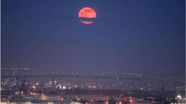 Księżyc czerwony