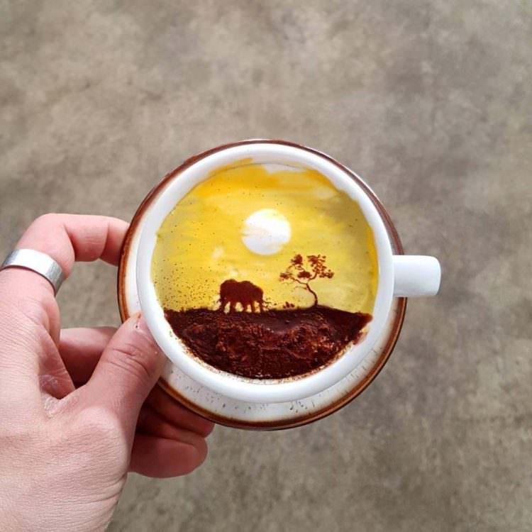 Latter art - kawowe dzieła sztuki