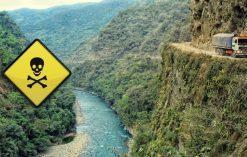 najniebezpieczniejsze drogi na świecie