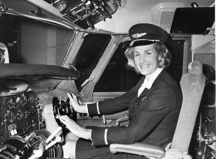 Turi Wideroe - pierwsza w historii kobieta pilot