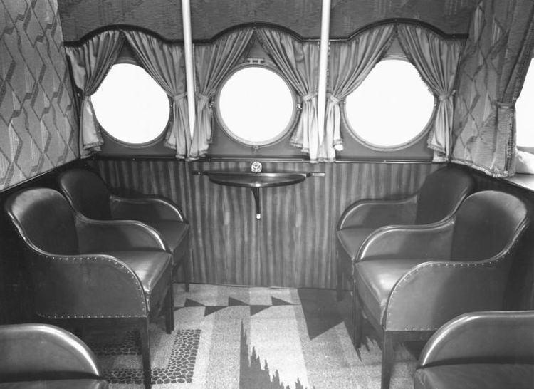 Wnętrze samolotu Dornier Do X