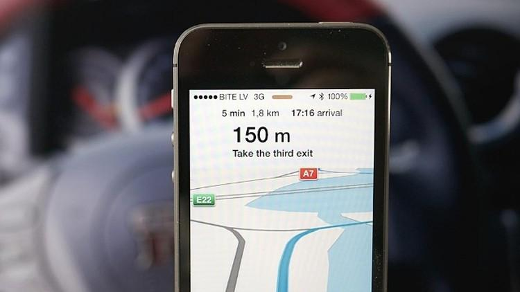 GPS na iphone