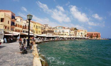 Chania, Kreta - stare miasto, port Wenecki