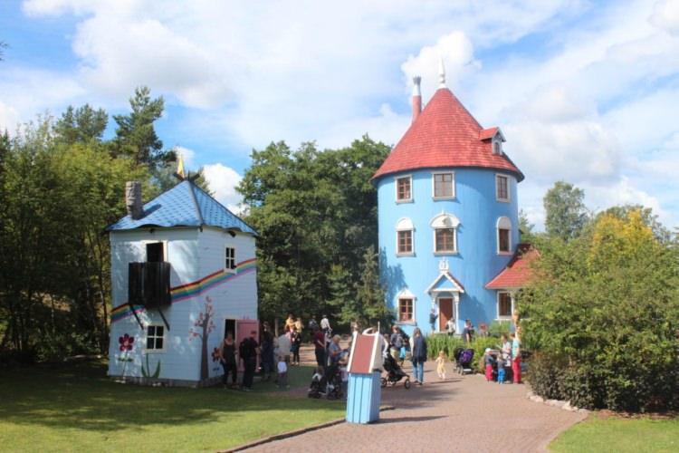 Dom Muminków - Finlandia