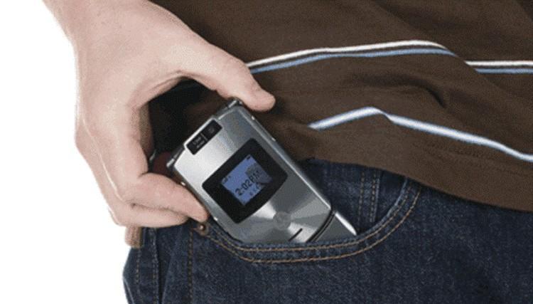 komorka w kieszeni