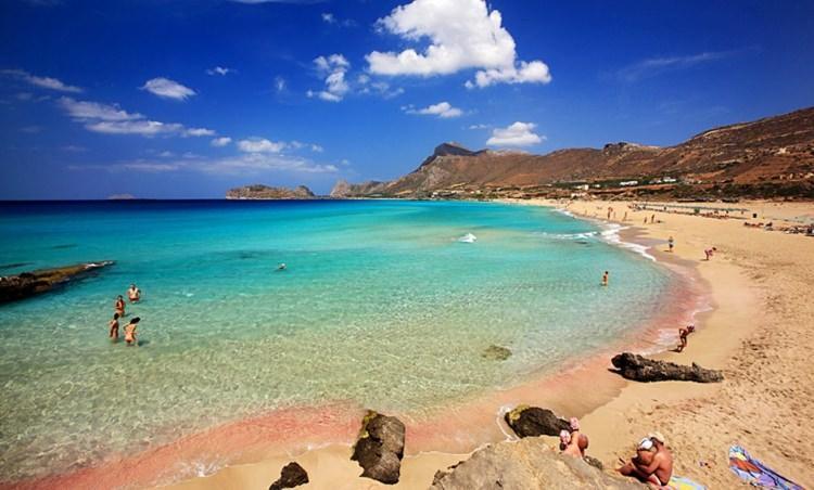 Plaża w Falsarnie, Kreta