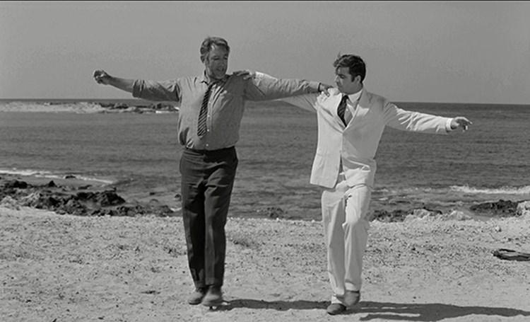 """Stavros, Kreta. Kadr z filmu """"Grek Zorba"""""""