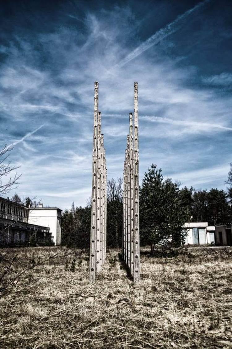 RON Warszawa/Leszczynka - opuszczony radiowy ośrodek nadawczy