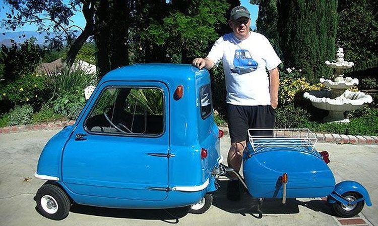 Peel P50 najmniejszy samochód na świecie