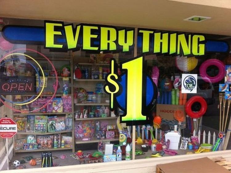 wszystko za 1 dolar