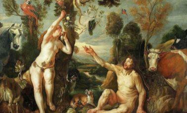 Adam i Ewa, Jacob Joardaens, około 1640