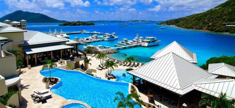 Brytyjskie Wyspy Dziewicze luksusowy hotel