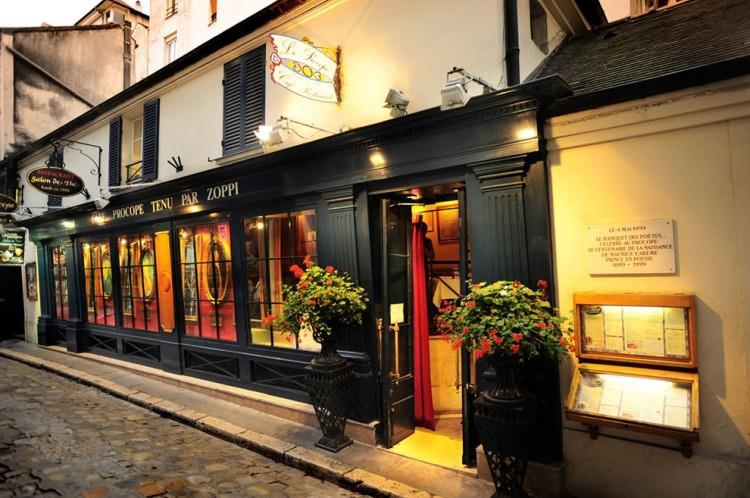 Café Procope w Paryżu