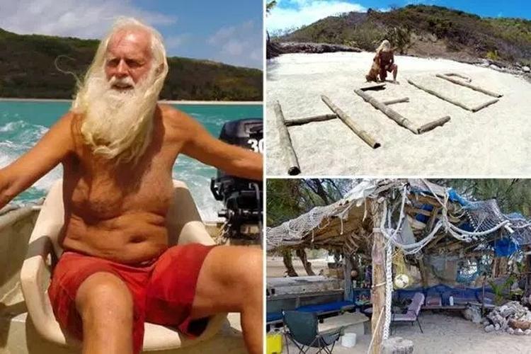 Współczesny Robinson Crusoe