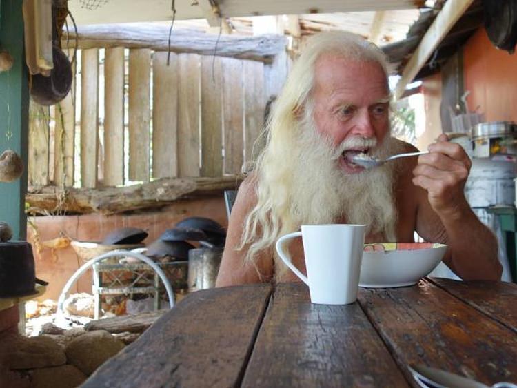 David Glasheen - współczesny Robinson Crusoe