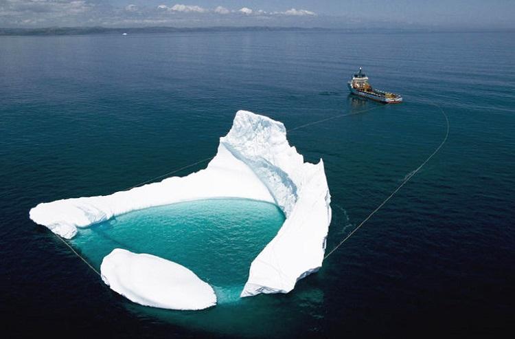 Spławiacz.. gór lodowych