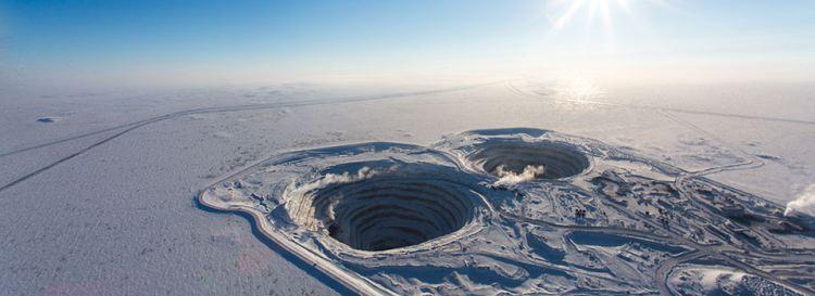 kopalnia diamentów diavik diamond mine