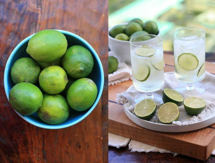 lemoniada z limonki