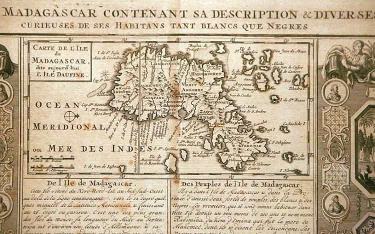 Madagaskar w XVII w