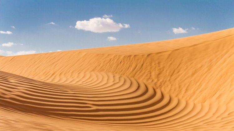 Najgorętsze miejsca na ziemi - pustynia Ar-Rab al-Chali