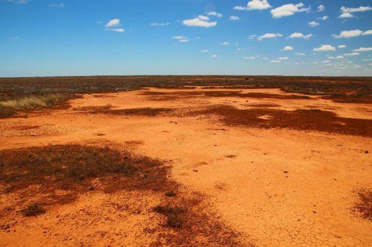 Badlands, Australia - najcieplejsze miejsca na świecie
