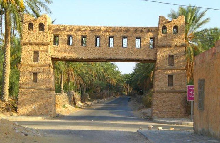 Najwyższe temperatury na świecie - Kibili, Tunezja