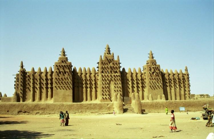 najgorętsze miejsca na świcie - Timbuktu, Mali