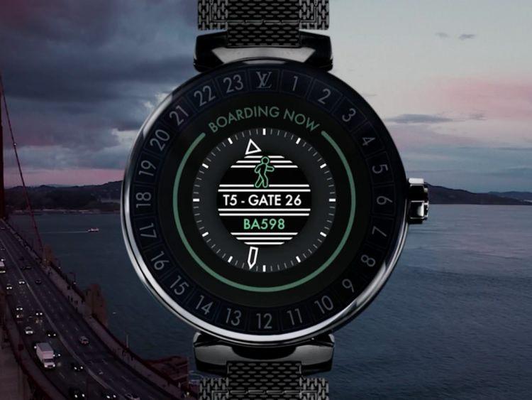 smartwatch Tambour Horizon od Louis Vuitton