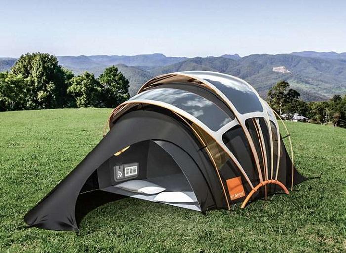Namiot solarny