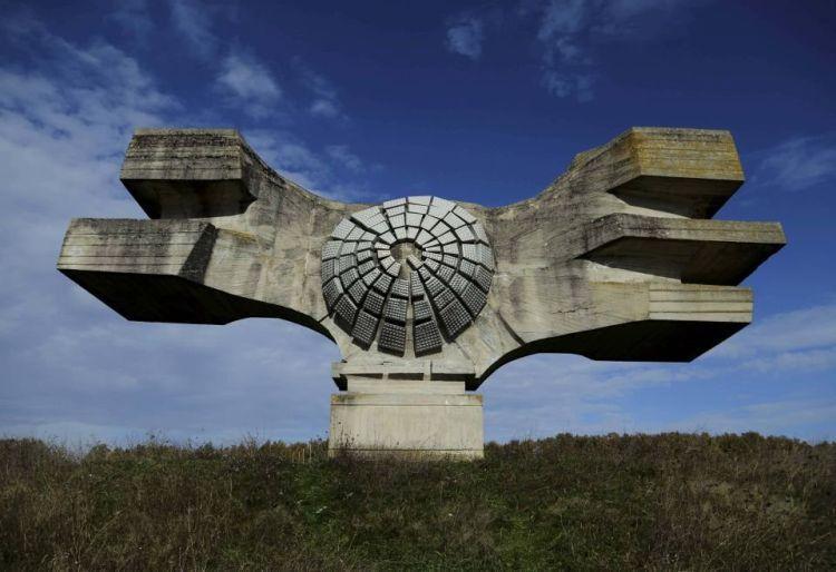 Pomnik Rewolucji Ludu Moslaviny (Podgaric, Chorwacja)