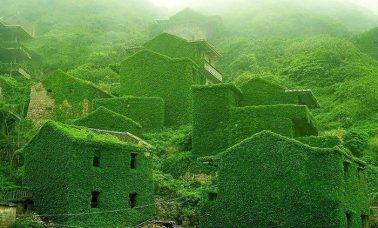 Houtouwan opuszczona wieś w Chinach