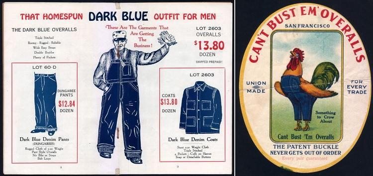 pierwsza reklama jeansów