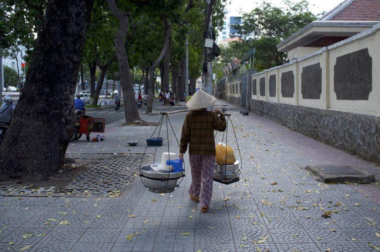 Ho Chi Minh w Wietnamie