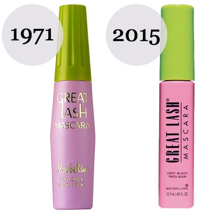 Mascara great lash kiedyś i dziś