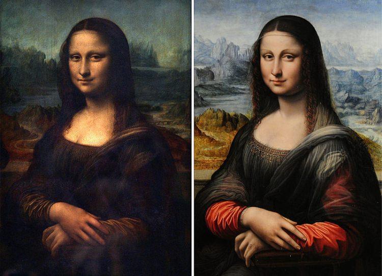 Mona Lisa kopia z Prado