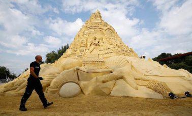Najwyższy na świecie zamek z piasku