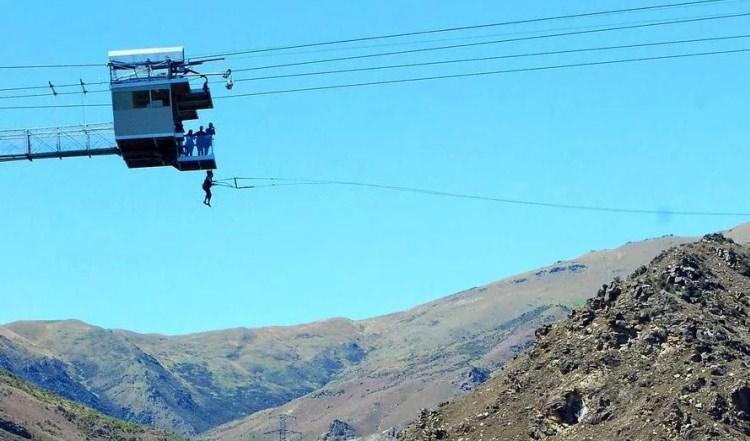 Nevis Swing największa huśtawka na świecie
